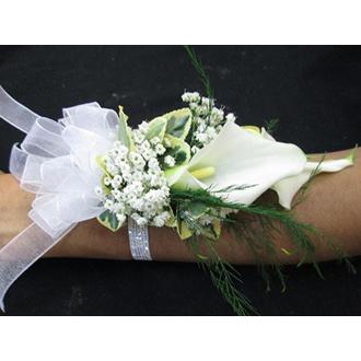 Double White Calla Lily