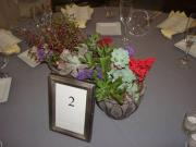 Succulent Table Centerpieces
