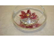 Floating Cymbidium Orchids Centerpiece