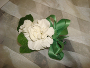 Double Gardenis Corsage