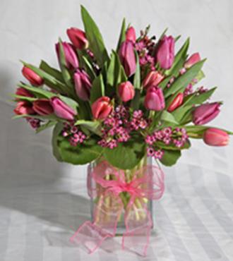 Rectangular Tulip Vase
