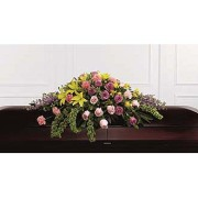 SUNRISE CASKET SPRAY - Full Casket Spray