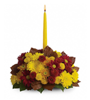 Flowers By Bauers Harvest Happiness Centerpiece