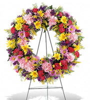Flowers By Bauers Eternity Wreath