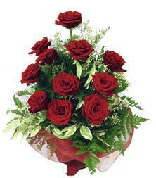Bouquet of Red Roses, wrapped