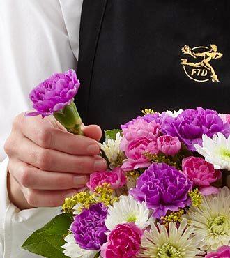 FTD Florist Designed Wrapped Bouquet