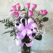 Lavender Rose Bouquet