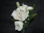 Double Alstroemeria Boutonniere