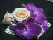 Dendrobium Orchid and Mini Corsage