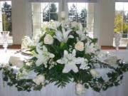 BRIDE & GROOM CENTERPIECE