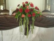 BRIDE & GROOM CENTERPIECE 2