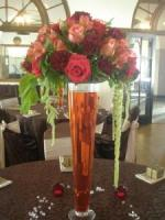 TRUMPET VASE ARRANGMENT