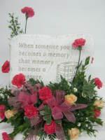 Memory keepsake stone