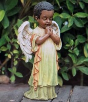 Praying Black Angel