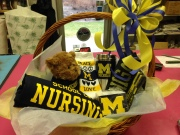 UNIVERSITY OF MICHIGAN GIFT BASKET