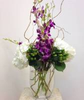 MODERN ORCHID ARRANGEMENT