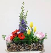 FLORAL TROUGH ROCK GARDEN