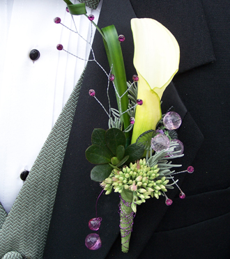 Homecoming Boutonniere Idea