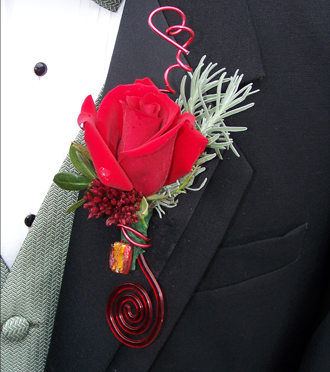 Homecoming Boutonniere Byron Center, Sunnyslope Floral