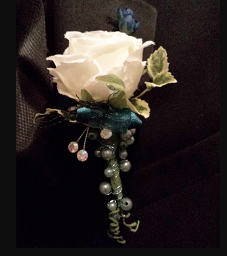 Homecoming Boutonniere Same Day, Sunnyslope Floral