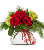 Modern style holiday flowers, Sunnyslope Floral Grand Rapids MI