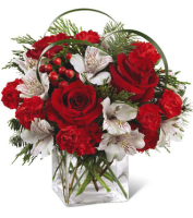 Contemporary Holiday Bouquet