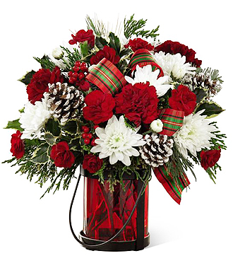 Send holiday bouquet of Christmas Flowers same day delivery to Grand Rapids & Holland Metro Area, Sunnyslope Floral florist