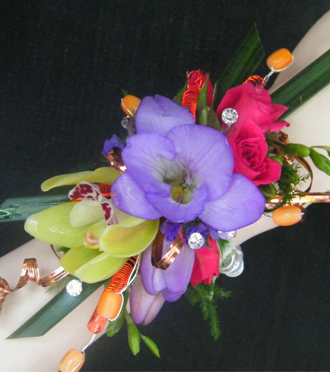 Homecoming Wrist Corsage Byron Center, Sunnyslope Floral