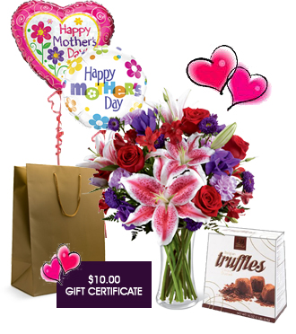 Mothers Day flower delivery package special for Grand Rapids area local delivery, Sunnyslope Floral