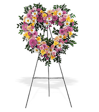 Send sympathy easel sprays and other flower arrangements to the funeral or memorial service in Grand Rapids, Michigan or nation wide with Sunnyslope Floral