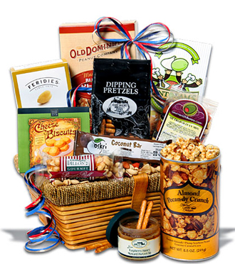 Gourmet food packages & other gift ideas available for delivery to the home, business or hospital in the Metro Grand Rapids area with Sunnyslope Floral