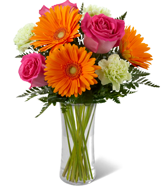 Send birthday gerbera daisy bouquets & other birthday gifts for delivery to the home or business in Grand Rapids, Mi or world wide by Sunnyslope Floral