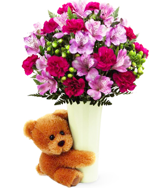 Send a Big Hug to the home, to the office, to the hospital or to work - Sunnyslope Floral, Grand Rapids local Flower Shop