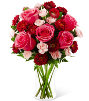 Valentines Day Flowers in Grand Rapids in  pink & red for delivery, Sunnyslope Floral, local Grand Rapids Flowers