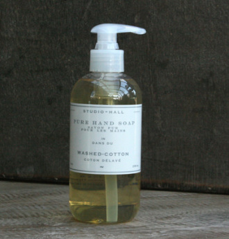 Washed Cotton Natural Liquid Soap