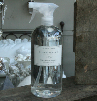 Washed Cotton Linen Water