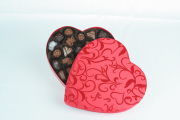 16 oz. Red Heart Box with Assorted Chocolates