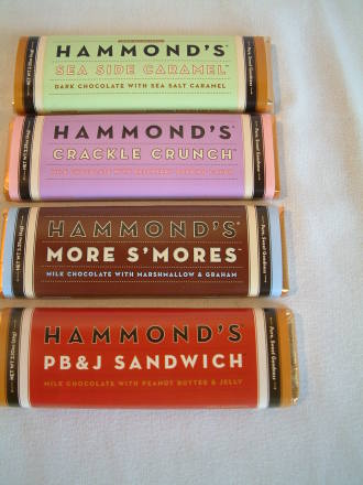 Hammonds Chocolate Bar - 2.25 oz