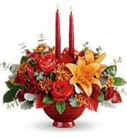Renning's Autumn in Bloom Bouquet