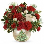 Renning's Classic Pearl Ornament Bouquet