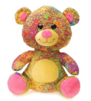 Scribbleez Bear - Pink