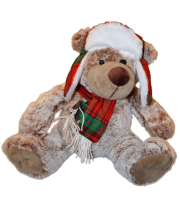 Holiday Bear Plush