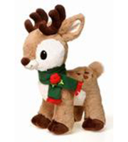 Holiday Reindeer Plush