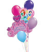Birthday Princess Balloon Bqt.