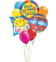 Get Well Balloon Bqt.