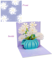 Daisy Bouquet Pop-up Card