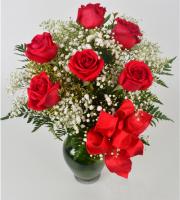 Half Dozen Rose