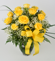 Dozen Rose - Yellow