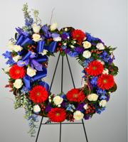 American Bravery Wreath