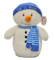 Holiday Snowman Plush